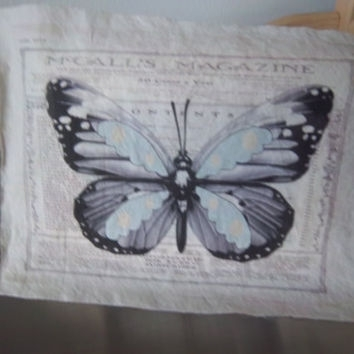 Best Walls With Handmade Butterfly Decorations Products On Wanelo In Fabric Butterfly Wall Art (Image 5 of 15)