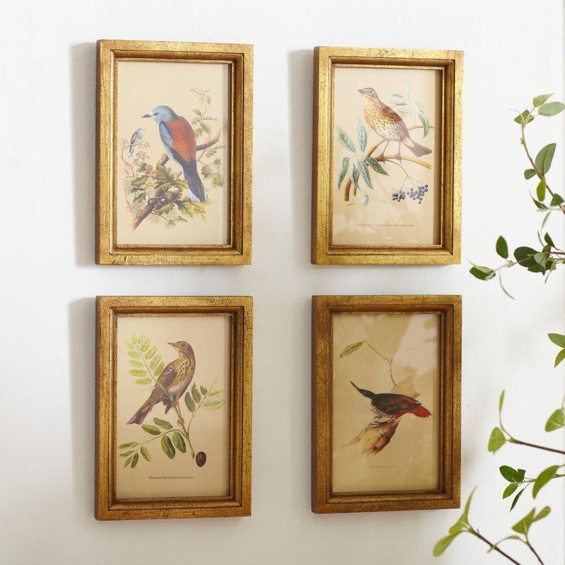Birch Lane™ Avian Framed Prints & Reviews | Birch Lane With Birds Framed Art Prints (View 7 of 15)