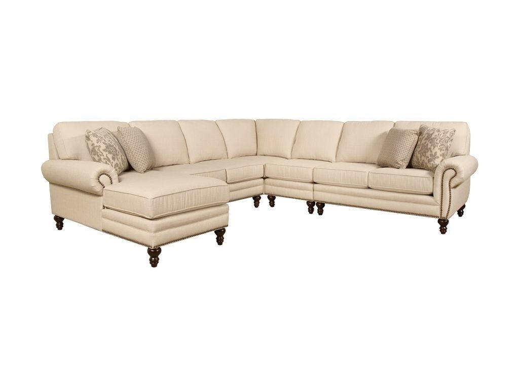 Black Sectional Sofa With Nailhead Trim • Sectional Sofa In Sectional Sofas With Nailheads (Image 1 of 10)