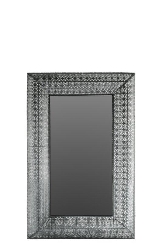 Bloomsbury Market Henton Rectangular Wall Accent Mirror & Reviews For Rectangular Wall Accents (Image 4 of 15)