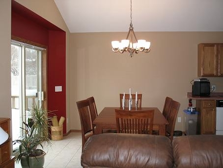 Blue Accent Walls In Living Room   Interior Painting – Red Canary Inside Wall Accents For Tan Room (View 13 of 15)