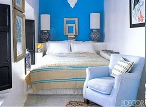 Blue Bedroom Wall Blue Bedroom Wall Accent Bedroom Accent Wall Within Blue Wall Accents (Image 7 of 15)