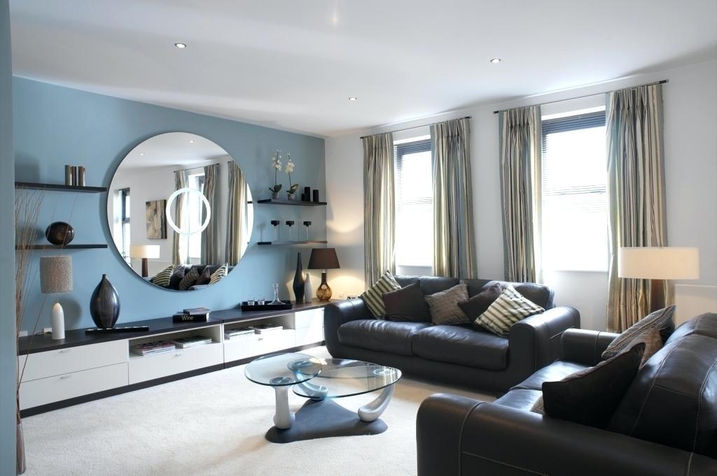 Blue Wall Living Room Ideas – Ticketliquidator (Image 8 of 15)