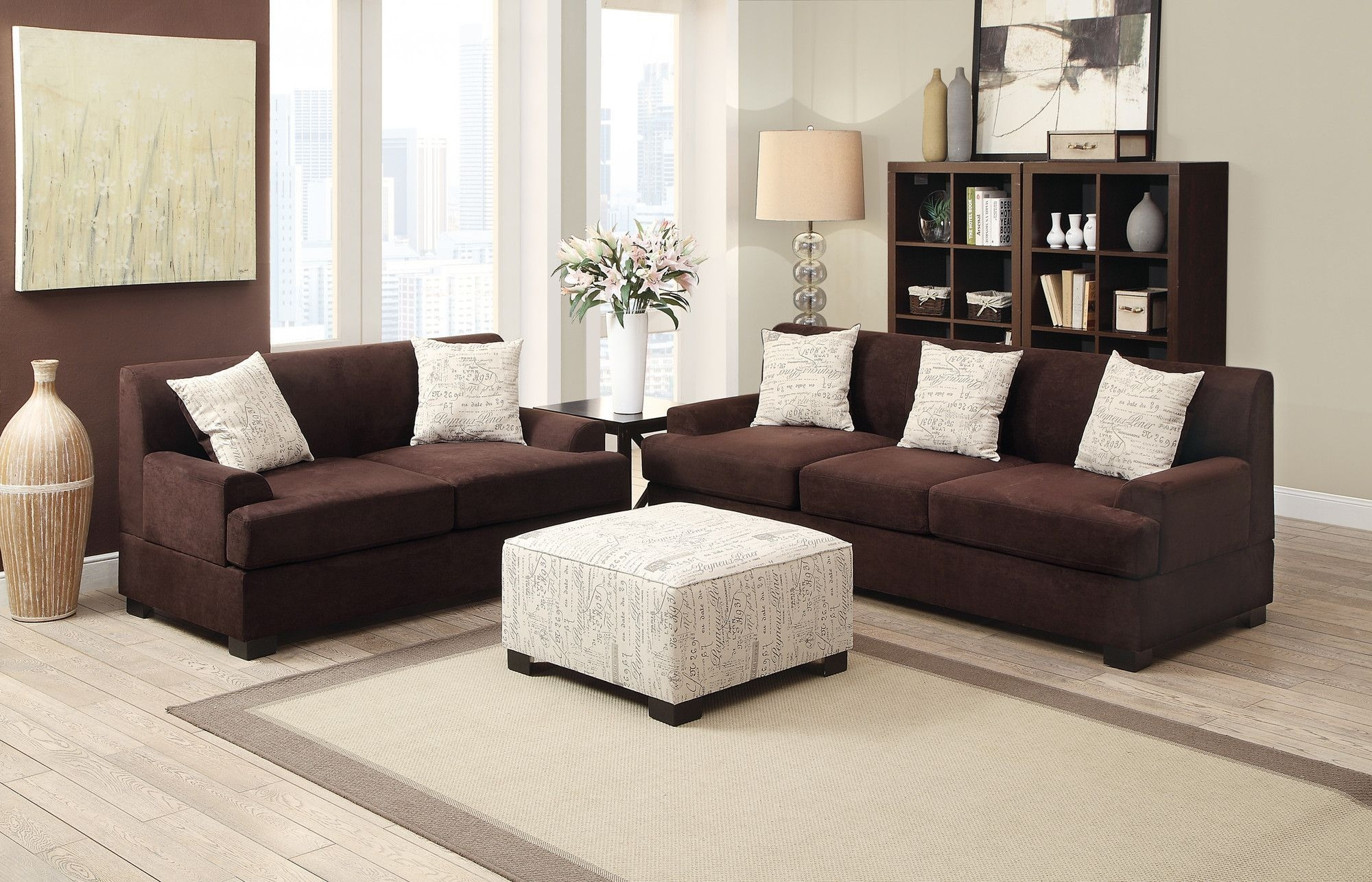 Bobkona Barrie Sofa And Loveseat Set | Products | Pinterest | Products With Regard To Sectional Sofas At Barrie (View 4 of 10)