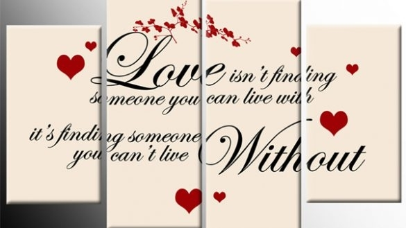 Bold Design Love Canvas Wall Art Plus Live Laugh Paintings 3 Piece In Love Canvas Wall Art (View 8 of 15)
