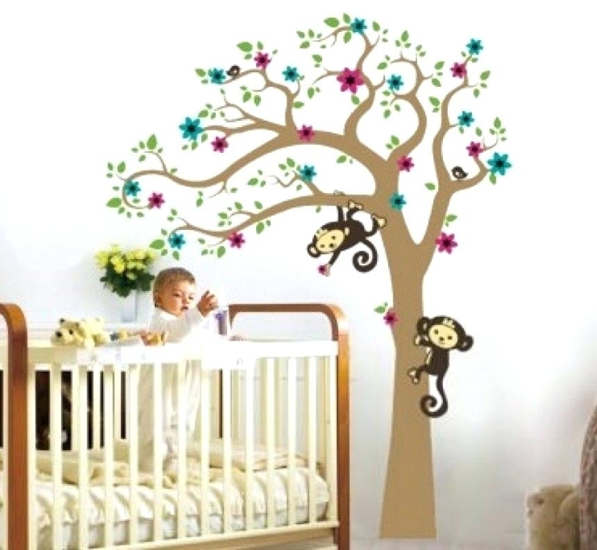 Boy Nursery Wall Decor Baby Shower Wall Decorations Pinterest Throughout Nursery Wall Accents (Image 7 of 15)