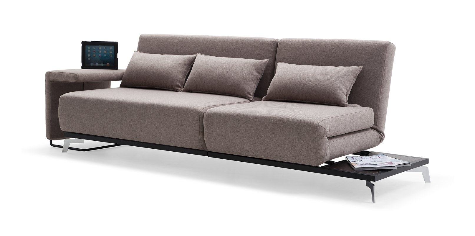 Brayden Studio Demelo Convertible Sofa & Reviews | Wayfair Regarding Convertible Sofas (Image 1 of 10)