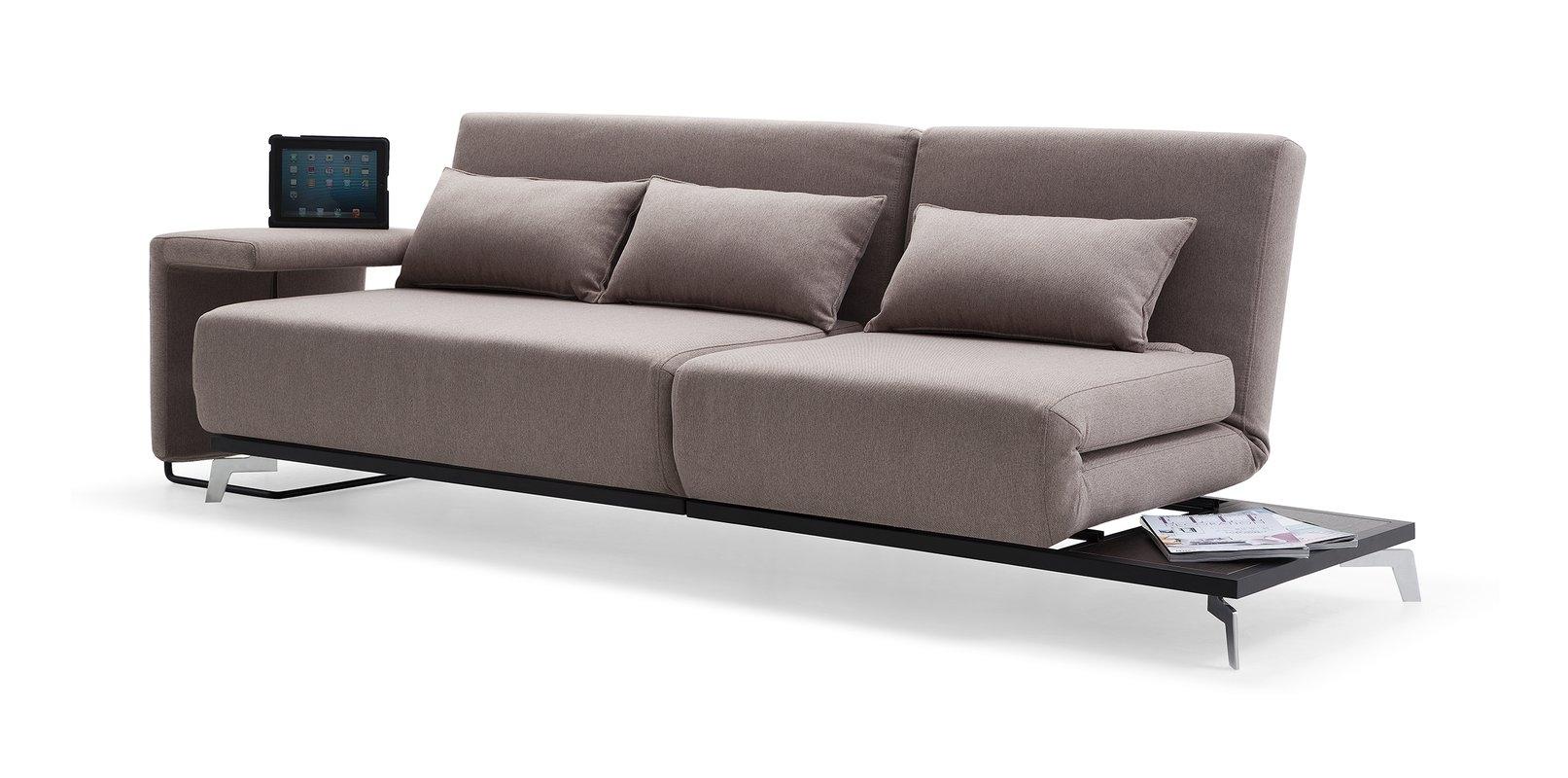 Brayden Studio Demelo Convertible Sofa & Reviews | Wayfair Regarding Convertible Sofas (View 3 of 10)
