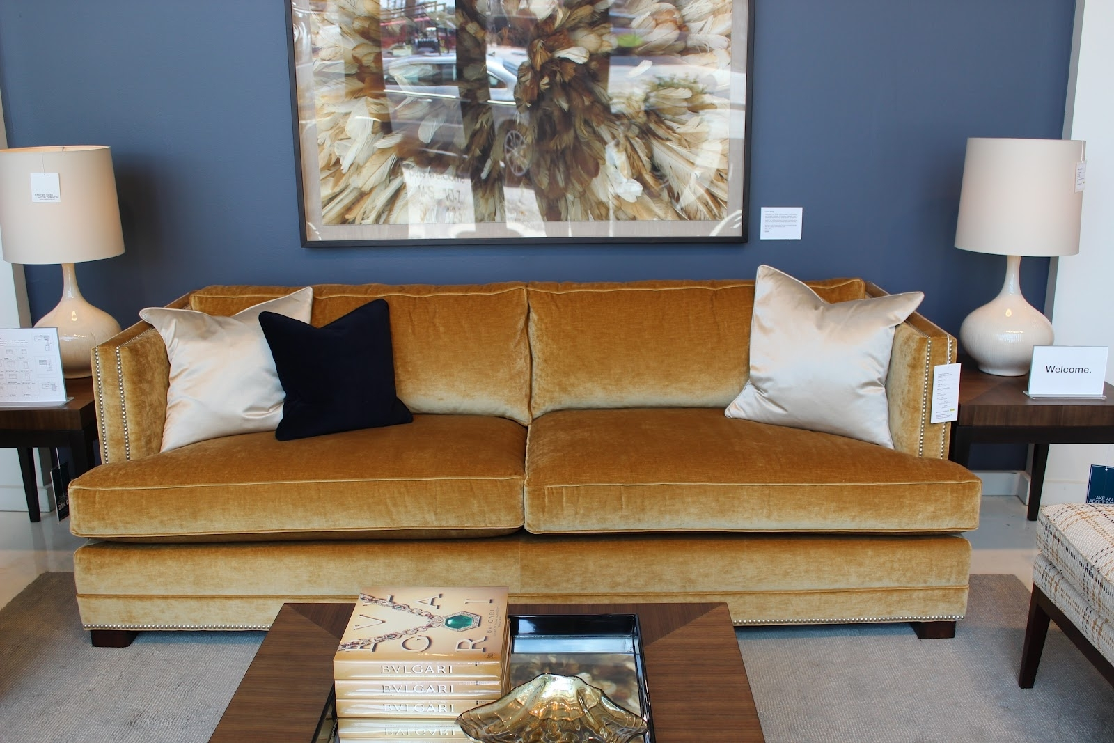 Breathtaking Chair Ideas Together With Living Room Mitchell Gold Within Gold Sectional Sofas (View 5 of 10)