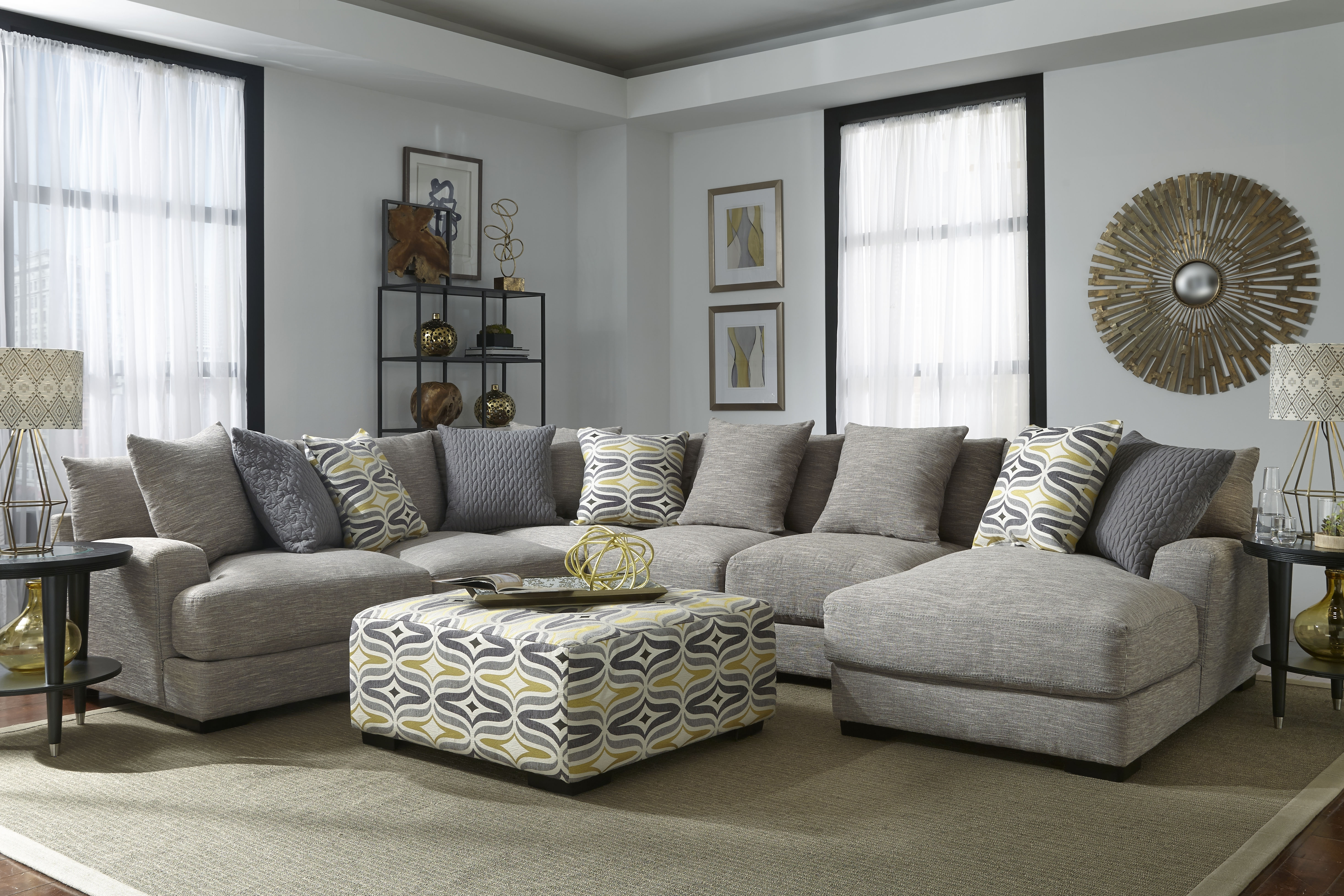 Brendan – Sectional – 808 Sectionals From Franklin At Crowley Furniture Inside Kansas City Sectional Sofas (Image 1 of 10)
