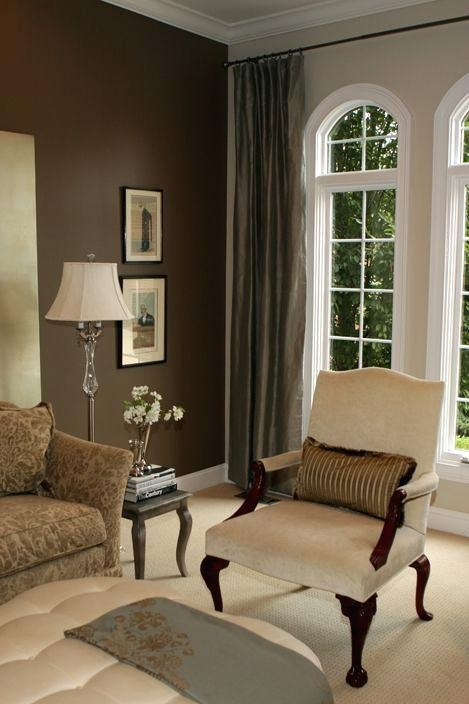 Brown Living Room Accent Colors House Decor Picturewall For For Brown Furniture Wall Accents (Image 2 of 15)