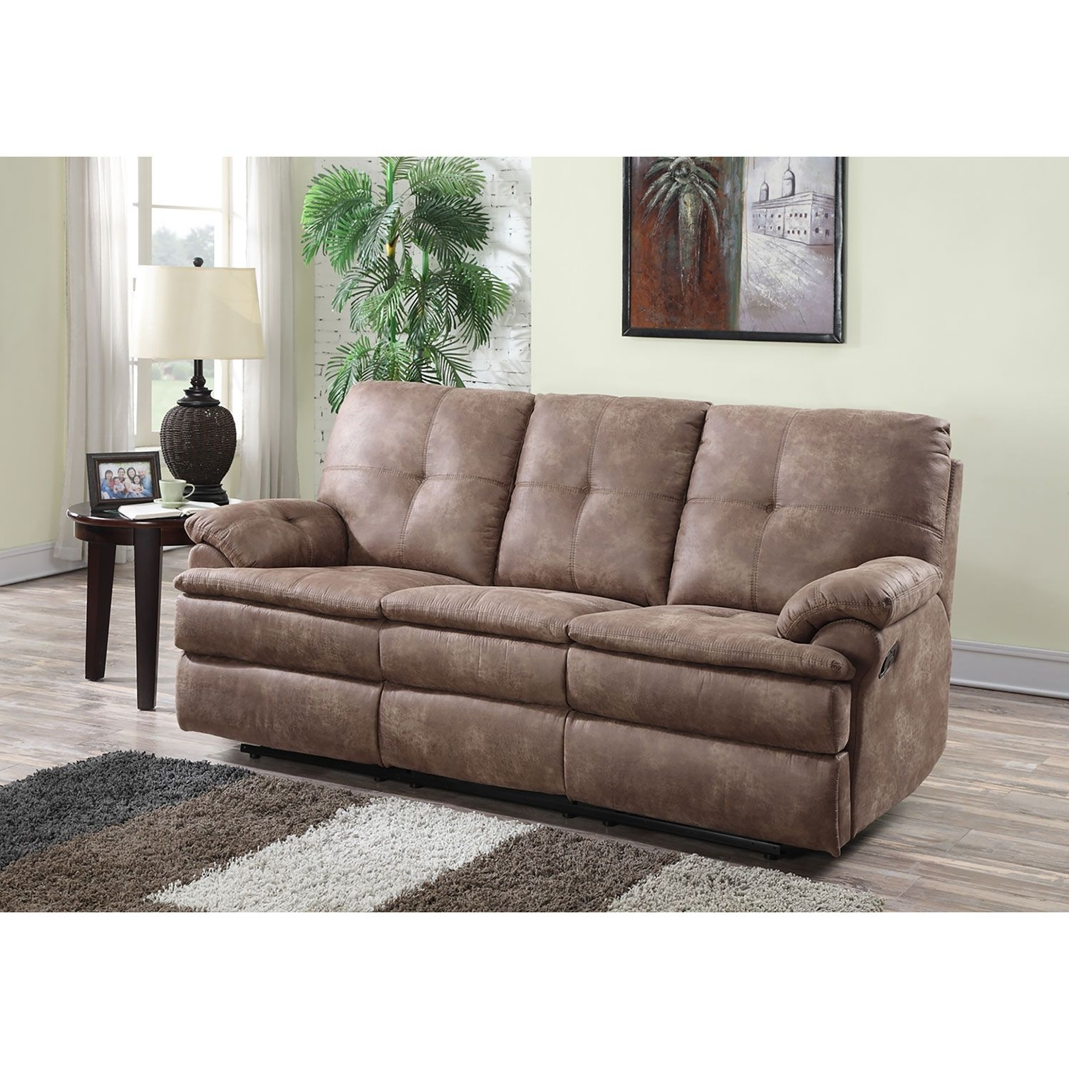Buck Fabric Reclining Sofa – Sam's Club | Home Furniture Ideas For Sectional Sofas At Sam's Club (View 6 of 10)