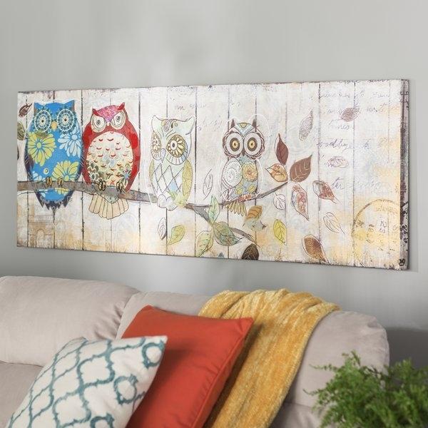Burgundy Canvas Wall Art | Wayfair Inside Joval Canvas Wall Art (View 15 of 15)