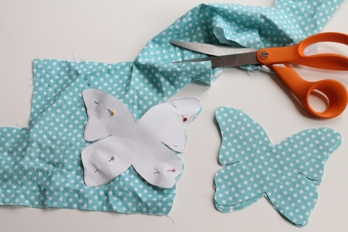 Featured Image of Fabric Butterfly Wall Art