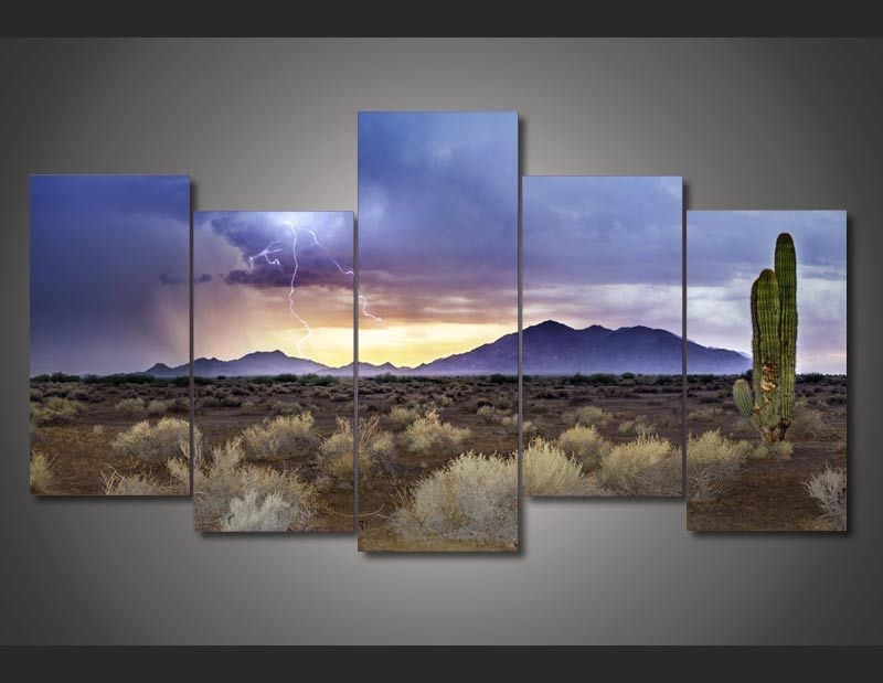 Buy Arizona Painting And Get Free Shipping On Aliexpress Intended For Arizona Canvas Wall Art (View 3 of 15)
