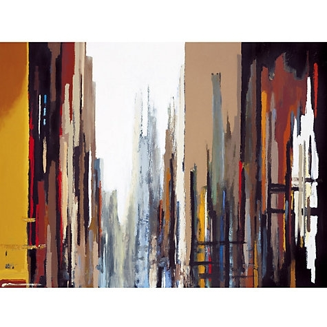 Buy Gregory Lang – Urban Abstract Online At Johnlewis | Artsy Within John Lewis Canvas Wall Art (View 14 of 15)