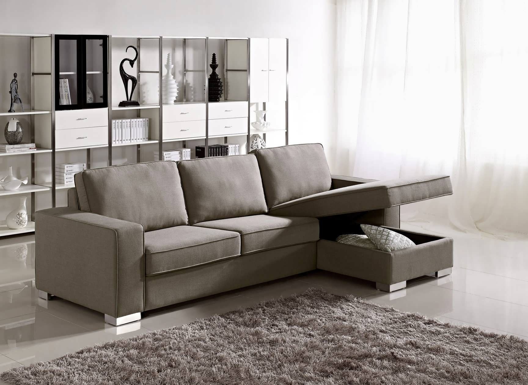 Buy Sectional Sofa Ottawa Small With Reversible Chaise Canada Sofas Within Sectional Sofas At Bc Canada (Image 1 of 10)