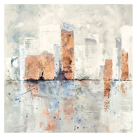 Buy Ulyana Hammond – City Limits Canvas Print, 90 X 90Cm Online At With John Lewis Canvas Wall Art (Image 3 of 15)