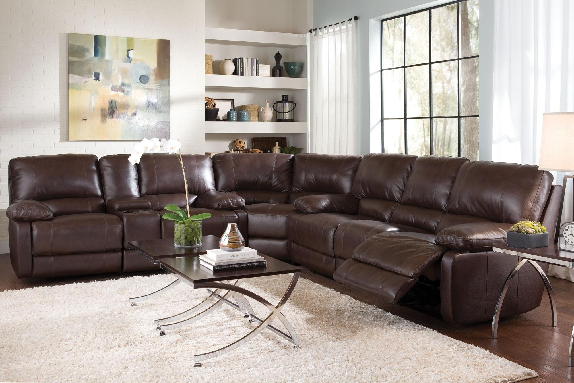C600021Sset – Top Grain Leather Sectional Buy Itthe Piece Or Inside Leather Motion Sectional Sofas (View 9 of 10)