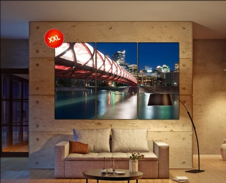 Calgary Canvas Wall Art Calgary Wall Decoration Calgary Throughout For Calgary Canvas Wall Art (Image 1 of 15)