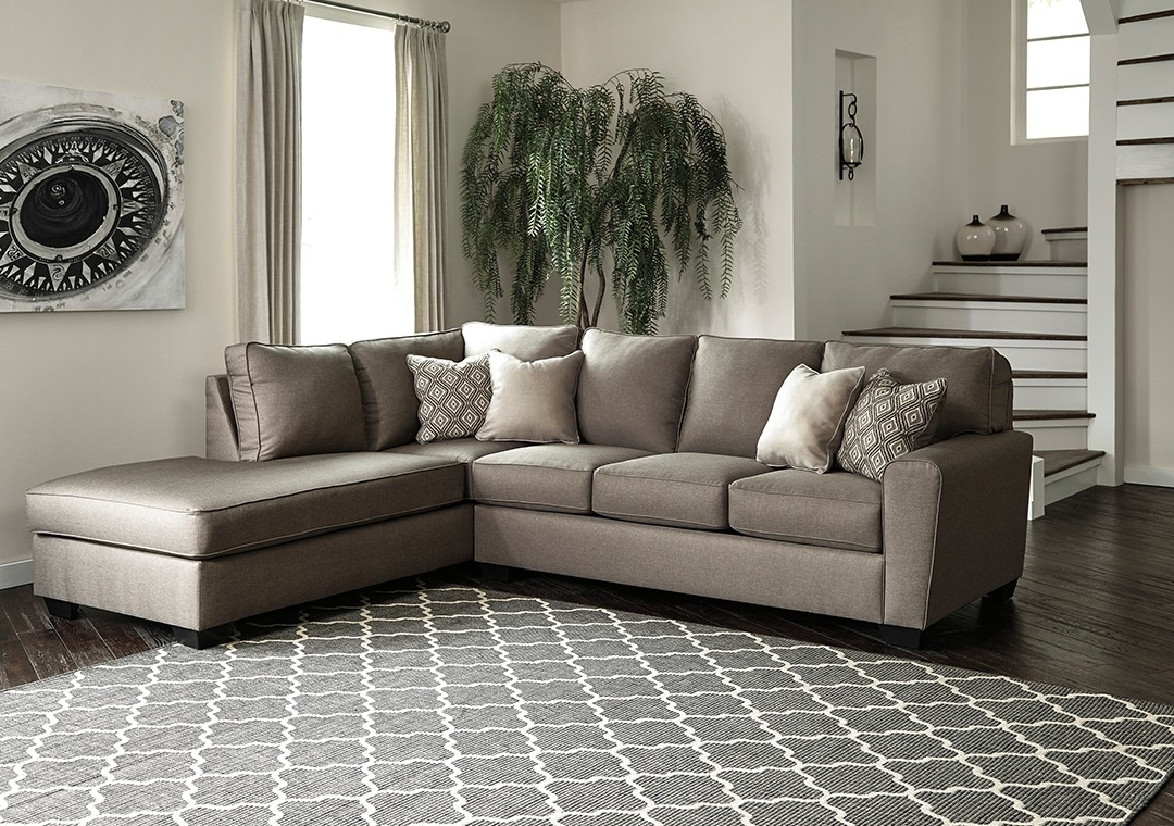 Calicho 2 Piece Sectional – Cashmere | Tepperman's Within Teppermans Sectional Sofas (Image 3 of 10)