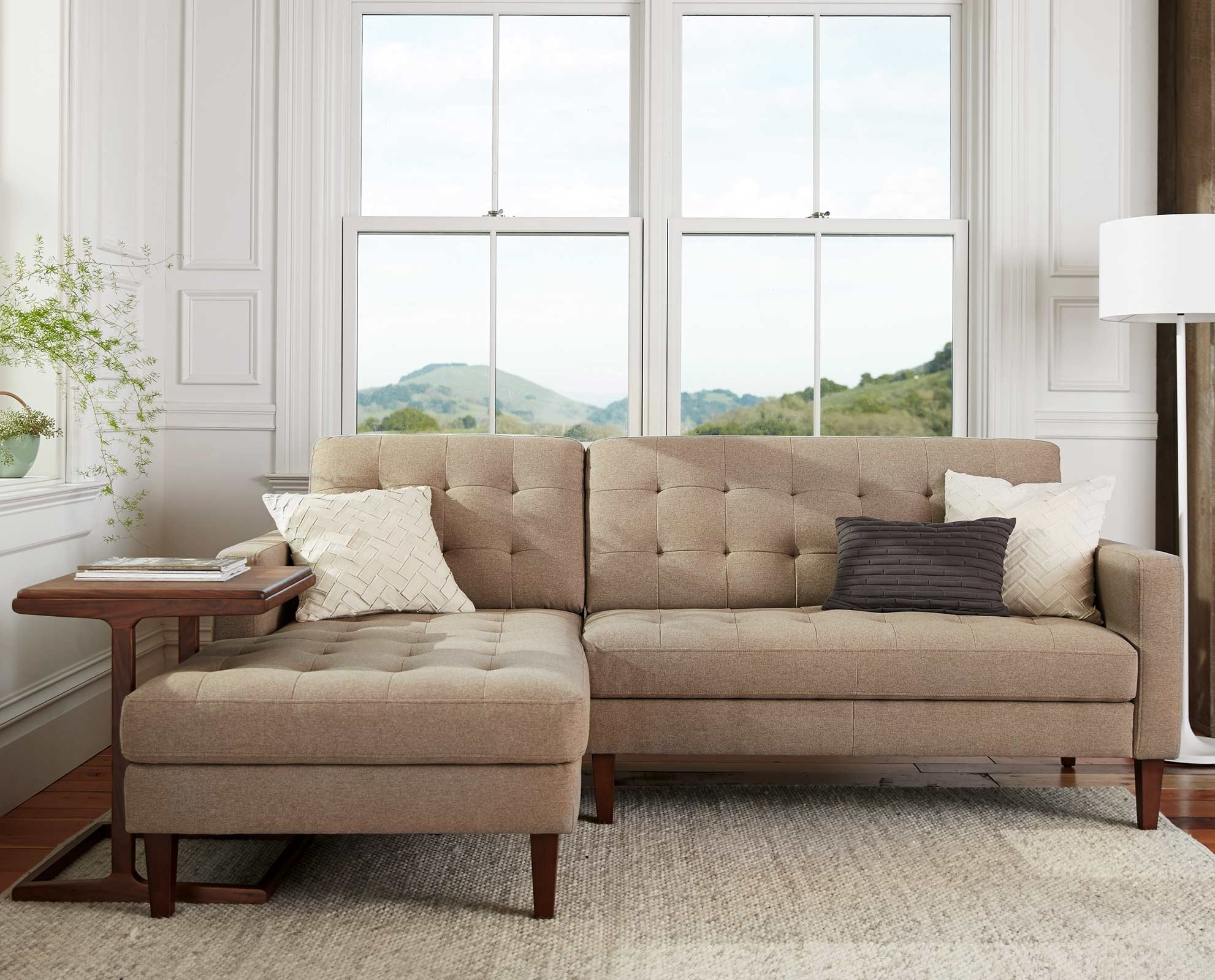Camilla Chaise Sectional | New House Decor | Pinterest | Upholstery Pertaining To Dania Sectional Sofas (Image 2 of 10)