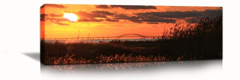 Canvas Photo Prints | Office Art | Photo And Art Prints – Queens Intended For Panoramic Canvas Wall Art (Image 4 of 15)