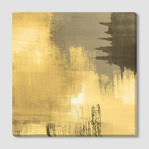 Canvas Print Pertaining To Gold Canvas Wall Art (View 14 of 15)