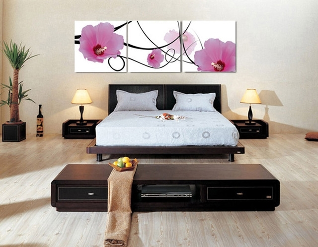 Canvas Prints For Bedroom Decor – Modern – Atlanta  Canvas Champ Pertaining To Bedroom Canvas Wall Art (Image 14 of 32)