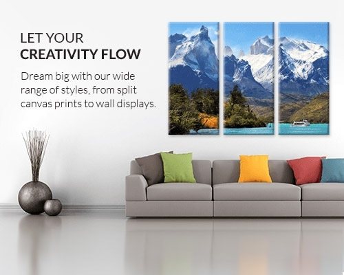Canvas Prints | Save On Canvas Photo Prints | Canvas Factory In Big W Canvas Wall Art (Image 9 of 15)