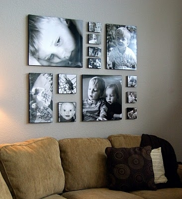 Canvas Prints Wall Gallery Ideas | Canvases, Diy Canvas And Canvas Pertaining To Groupings Canvas Wall Art (View 9 of 15)