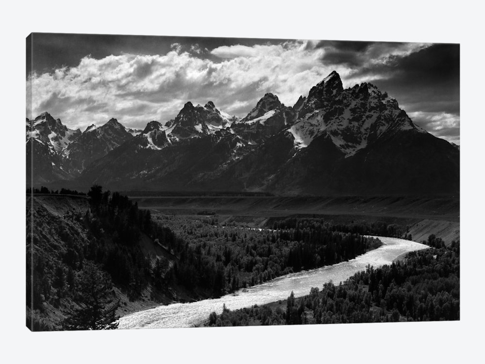 Canvas Printsansel Adams — Icanvas Intended For Black And White Photography Canvas Wall Art (Image 4 of 15)