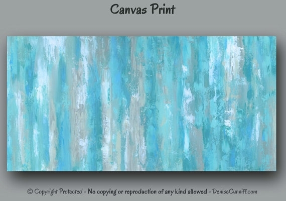 Featured Photo of Blue Canvas Wall Art
