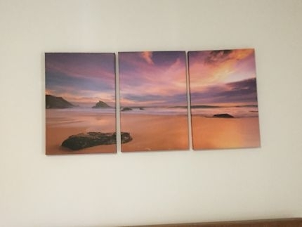 Canvas Wall Art Sunset | Art | Gumtree Australia Stirling Area With Mandurah Canvas Wall Art (View 9 of 15)