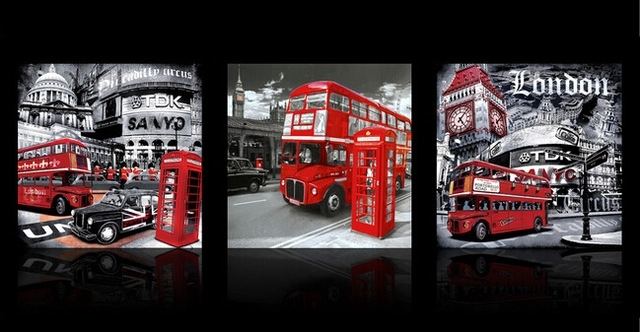 Captivating 50+ London Wall Art Design Decoration Of Decoration Intended For London Canvas Wall Art (View 9 of 15)