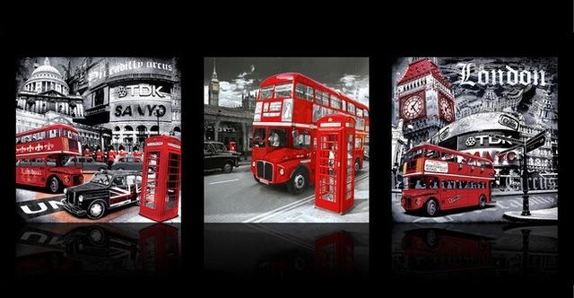 Captivating 50+ London Wall Art Design Decoration Of Decoration Intended For London Canvas Wall Art (Image 7 of 15)