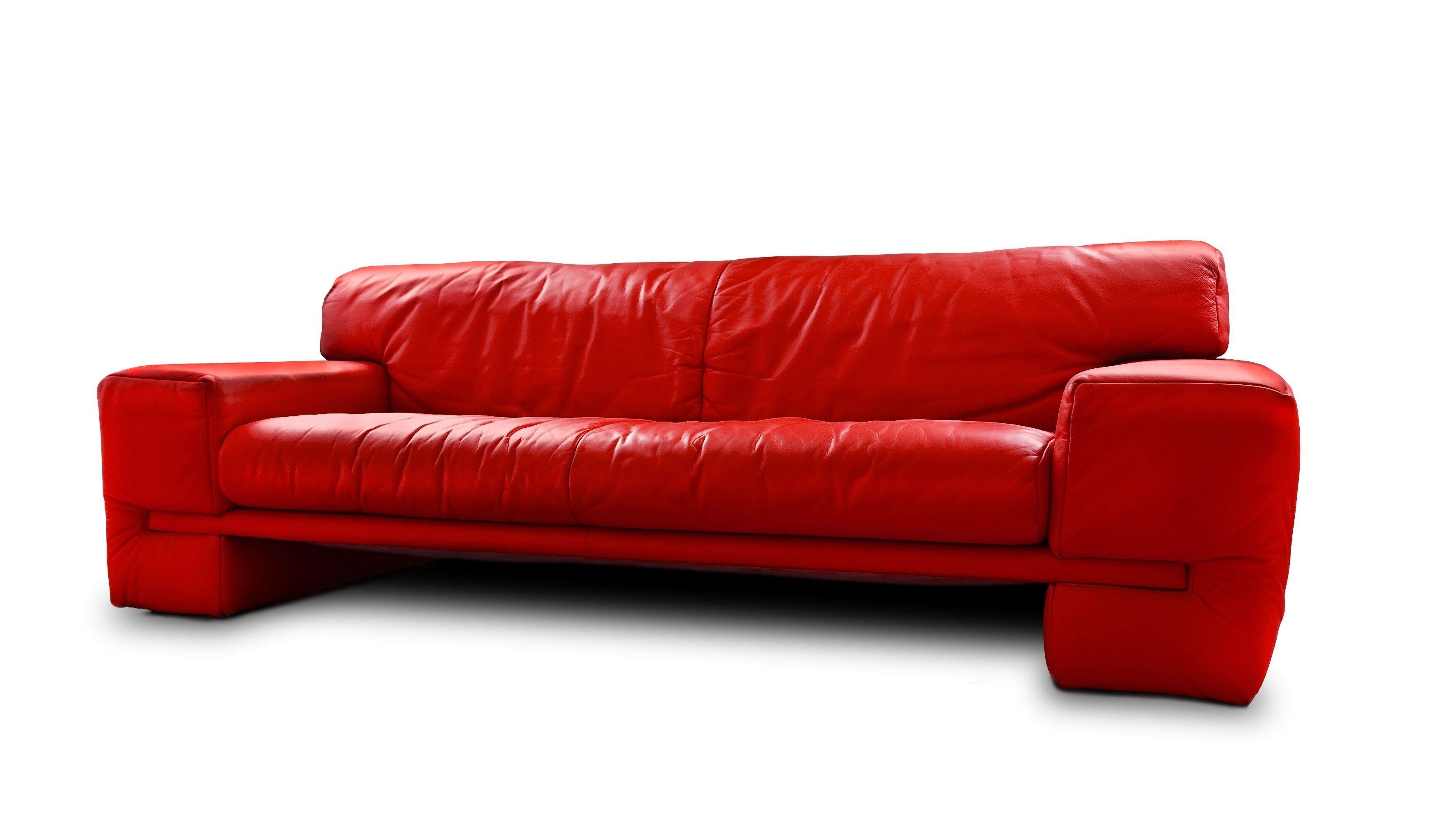 Captivating Red Leather Sleeper Sofa Cool Home Furniture Ideas With With Regard To Red Sleeper Sofas (Image 2 of 12)