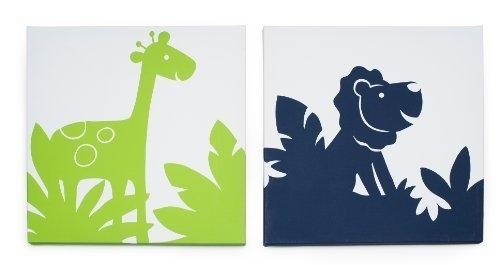 Carter's Safari Sky 2 Piece Canvas Wall Artkids Line, Http Inside Kidsline Canvas Wall Art (Image 3 of 15)
