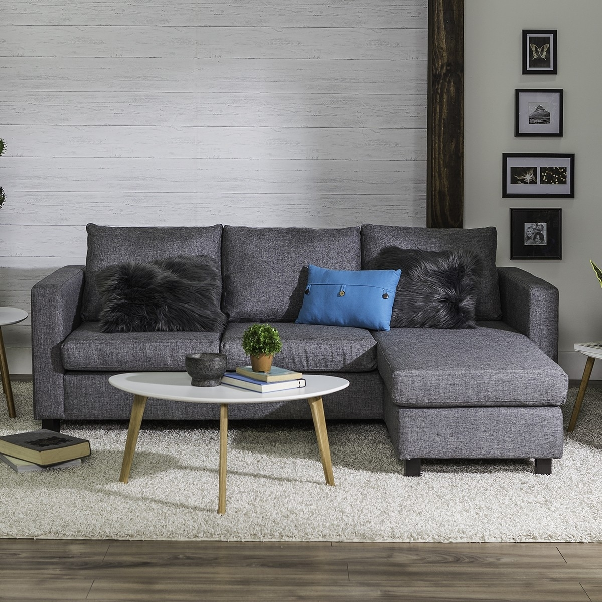 Casa Corner Sofa (Grey) Within Jysk Sectional Sofas (Image 5 of 10)