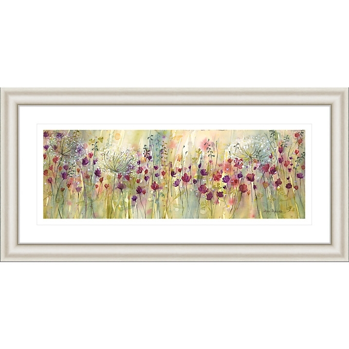 Catherine Stephenson – Spring Floral Panel Framed Print, (View 10 of 15)