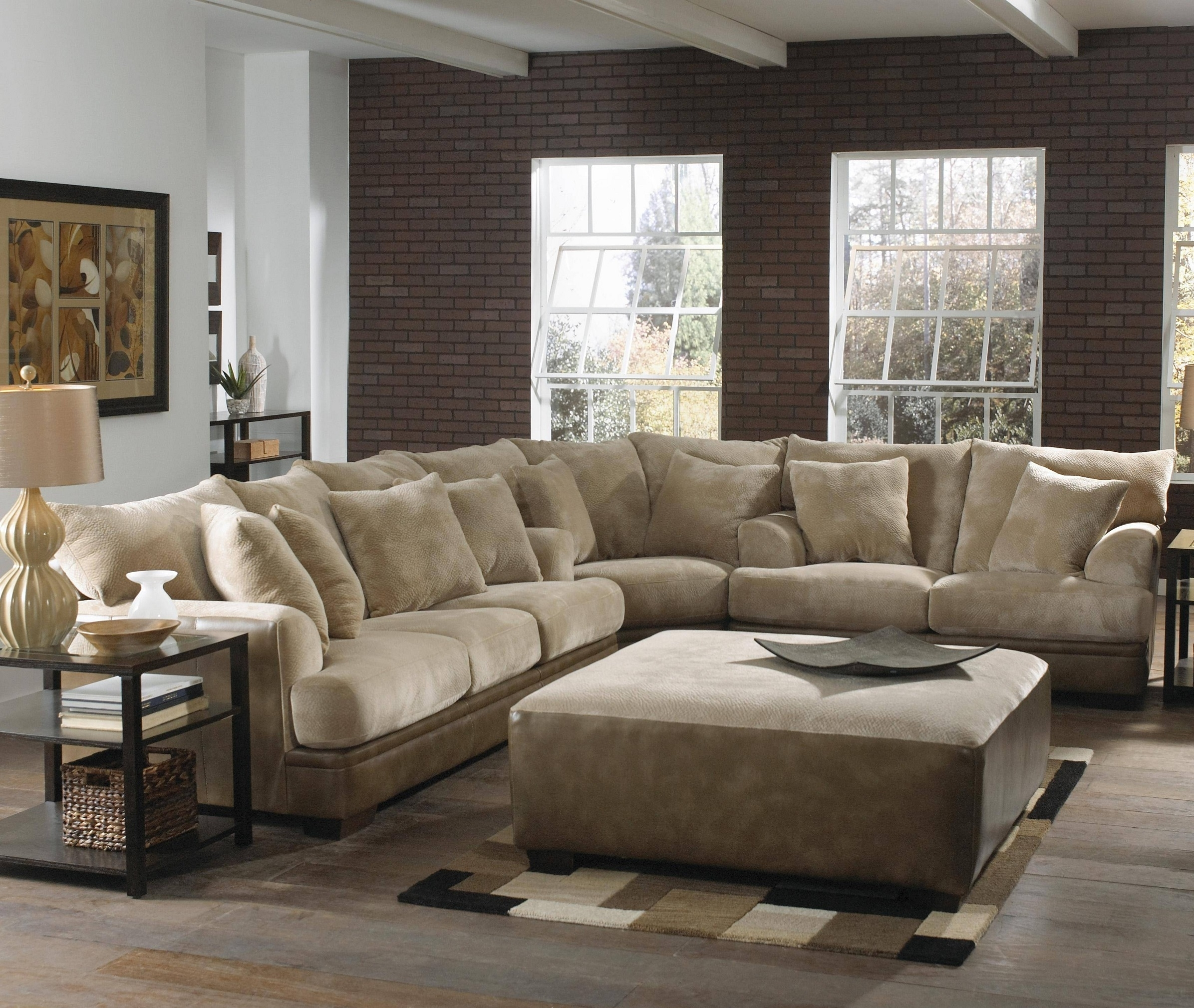 Chairs : Chairs Chair Classy Oversized Reading In Dark Brown Fabric With Grand Furniture Sectional Sofas (Image 3 of 10)