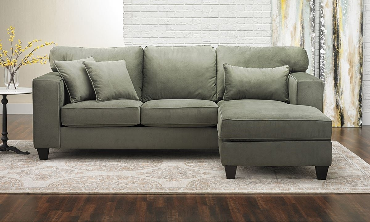 Chaise Sectional Sofa | The Dump Luxe Furniture Outlet Intended For The Dump Sectional Sofas (Image 4 of 10)