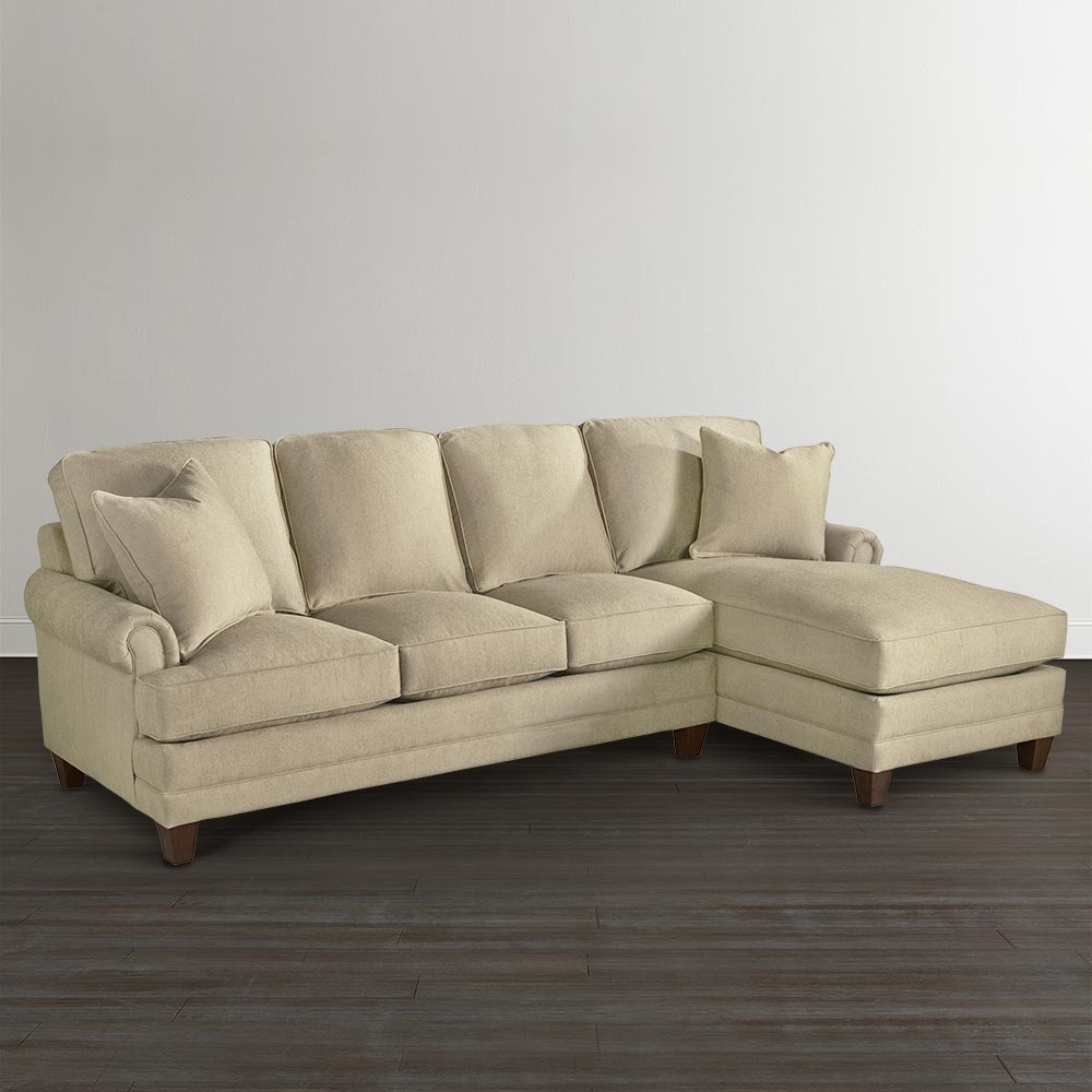 Chaise Upholstered Sectional | Bassett Furniture Throughout Sectional Sofas At Bassett (Image 2 of 10)