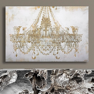 Chandelier Diamond Dust | Chandeliers And Art Art Regarding Chandelier Canvas Wall Art (Image 3 of 15)