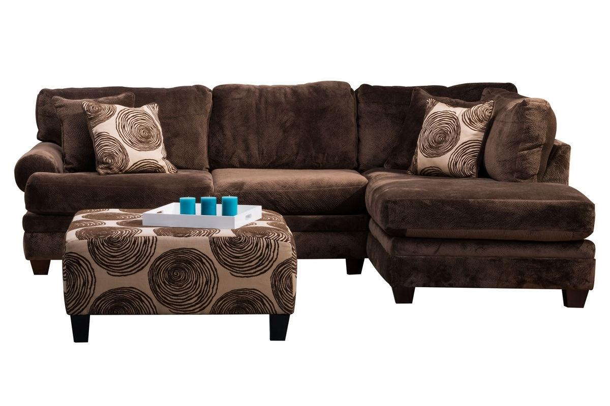 Channing Microfiber Sectional At Gardner White Intended For Gardner White Sectional Sofas (Image 2 of 10)