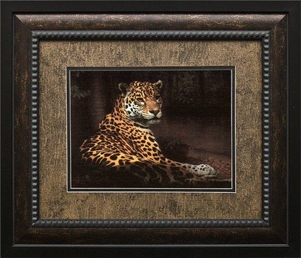 Charles Frace Brushstroked Textured Matted And Framed Art Print With Framed And Matted Art Prints (View 7 of 15)