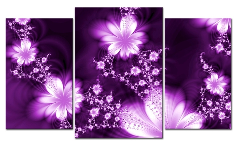 Charming Decoration Purple Wall Art Designs Canvas – Wall Art Ideas Inside Canvas Wall Art In Purple (View 10 of 15)