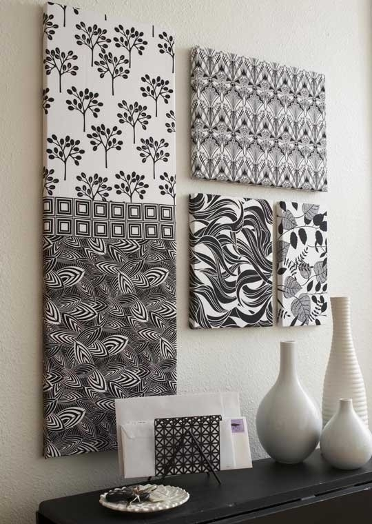 Charming Inspiration Fabric Wall Hangings Art Hanging Pertaining To Fabric For Wall Art Hangings (View 5 of 15)