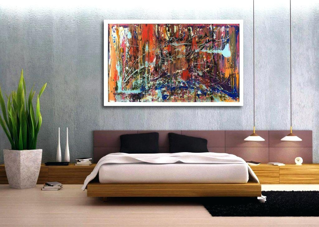 Cheap Abstract Canvas Wall Art – Boyintransit Within Canvas Wall Art In Canada (Image 8 of 15)