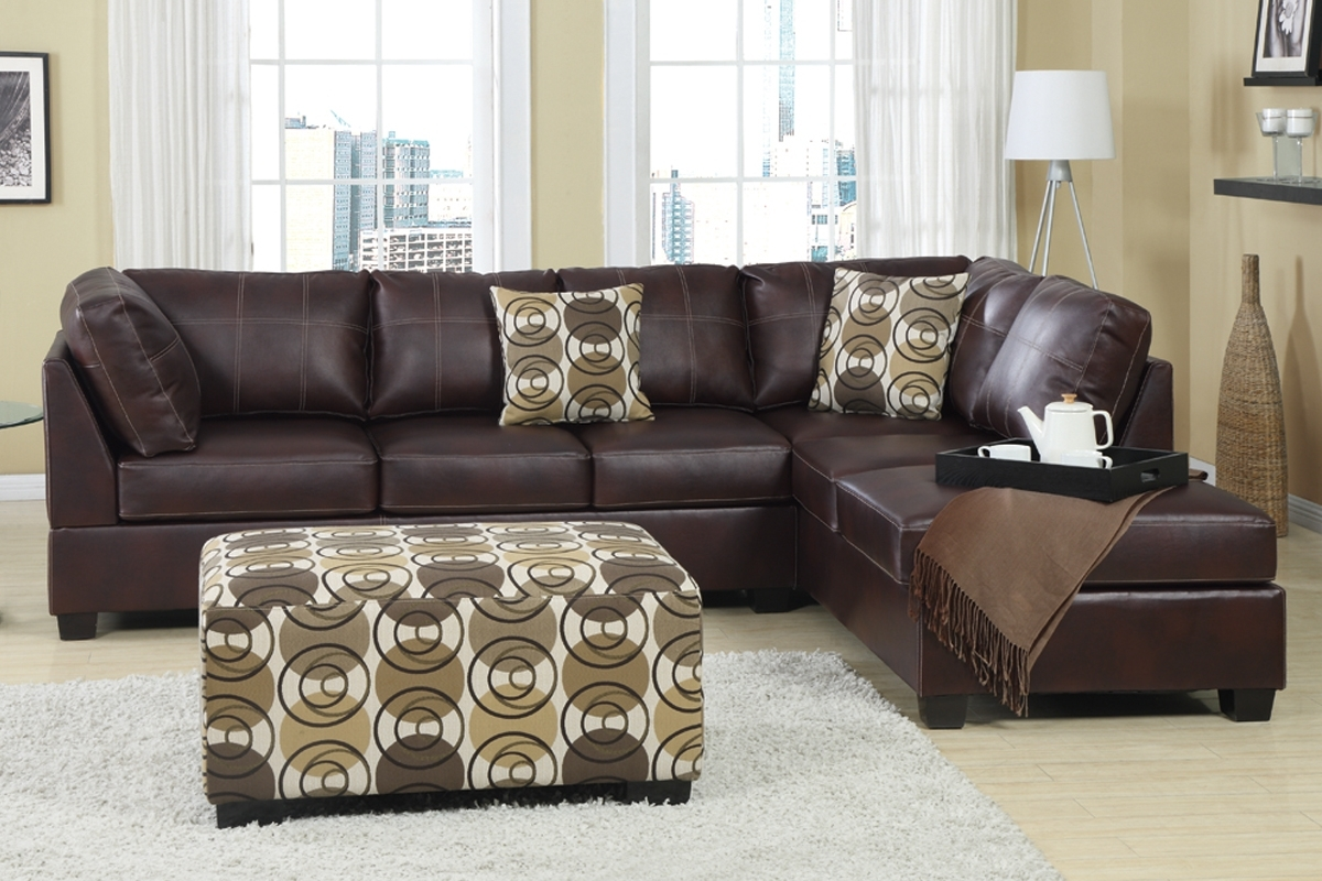 Cheap Sectional Sofas With Ottoman Within Cheap Sectionals With Ottoman (Image 7 of 10)